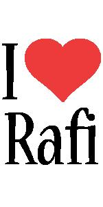 Rafi i-love logo