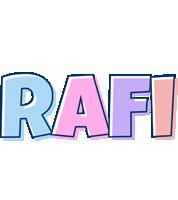 Rafi pastel logo