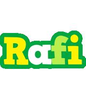Rafi soccer logo