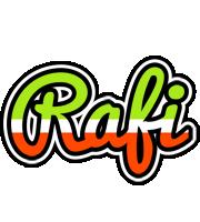 Rafi superfun logo
