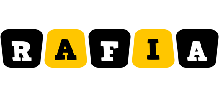 Rafia boots logo