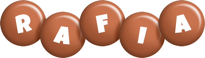Rafia candy-brown logo