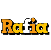 Rafia cartoon logo