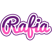 Rafia cheerful logo