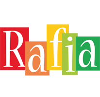 Rafia colors logo