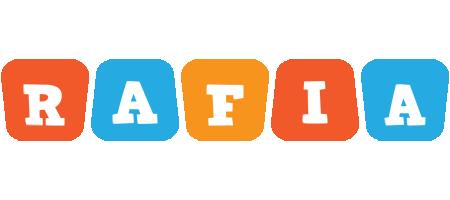 Rafia comics logo