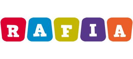 Rafia daycare logo