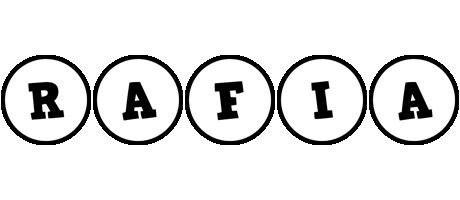 Rafia handy logo