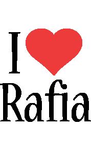 Rafia i-love logo