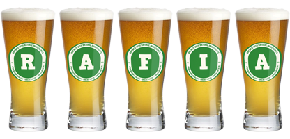 Rafia lager logo