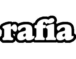 Rafia panda logo