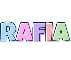 Rafia pastel logo