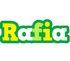 Rafia soccer logo
