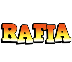 Rafia sunset logo
