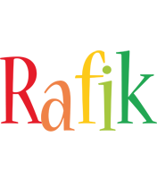 Rafik birthday logo