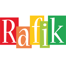 Rafik colors logo