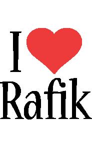 Rafik i-love logo