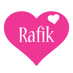 Rafik love-heart logo