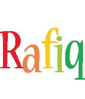 Rafiq birthday logo