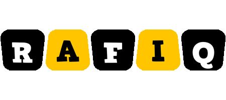 Rafiq boots logo