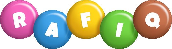Rafiq candy logo