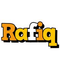Rafiq cartoon logo