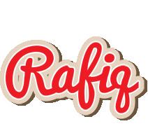 Rafiq chocolate logo