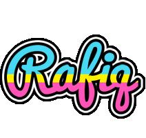 Rafiq circus logo