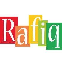 Rafiq colors logo
