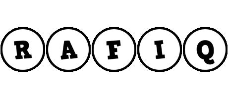 Rafiq handy logo