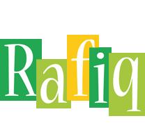 Rafiq lemonade logo