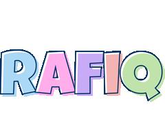 Rafiq pastel logo