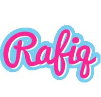 Rafiq popstar logo