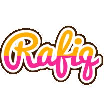 Rafiq smoothie logo