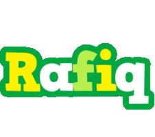 Rafiq soccer logo