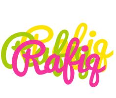 Rafiq sweets logo