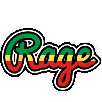 Rage african logo