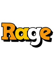 Rage cartoon logo