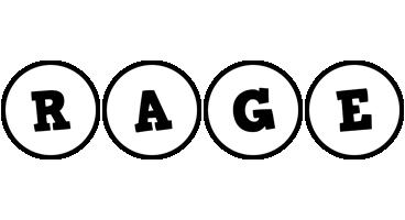 Rage handy logo