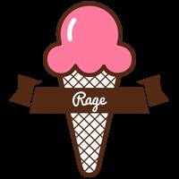 Rage premium logo