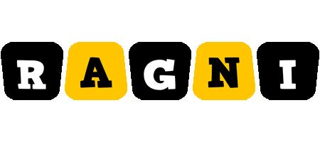 Ragni boots logo