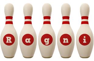Ragni bowling-pin logo