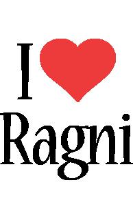 Ragni i-love logo