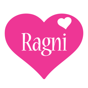 Ragni love-heart logo