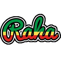 Raha african logo
