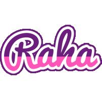 Raha cheerful logo