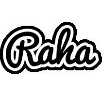 Raha chess logo