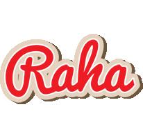 Raha chocolate logo