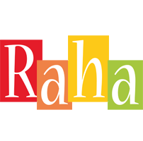 Raha colors logo