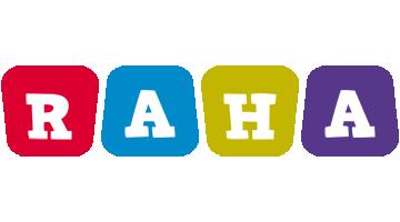Raha daycare logo